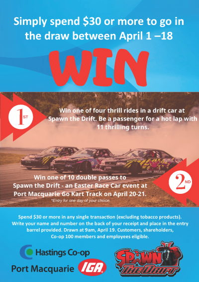 New competition at Port Macquarie IGA