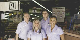 Port Supermarket staff