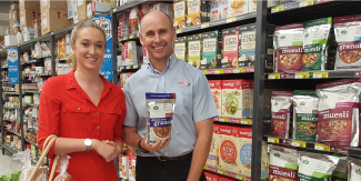 Gabby and Darren at Wauchope SUPA IGA