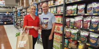 Staff at Wauchope IGA