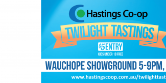 Twilight Tastings will be held at Wauchope Showground from 5pm - 9pm, March 15