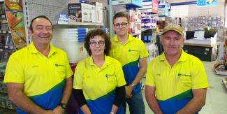 Mitre 10 team in new uniform