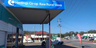 External pic of Kew Rural Store