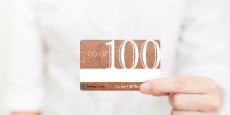 Co-op 100 card