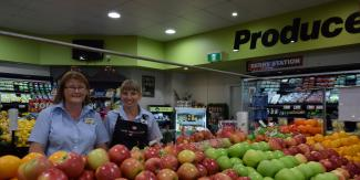 Jodie and Mel Timbertown IGA