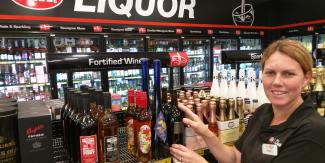 Kerry at Wauchope IGA Liquor